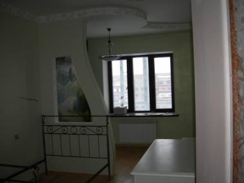 Фигурная перегородка в комнате своими руками