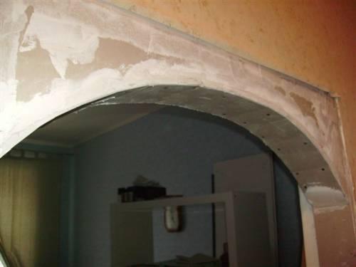 Арки стены из гипсокартона своими руками