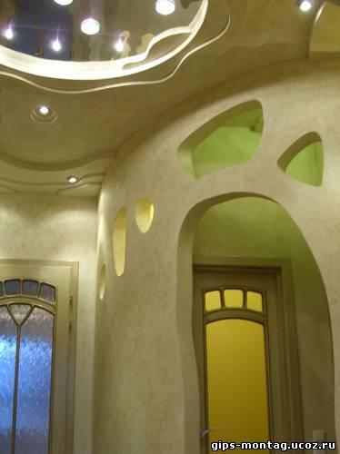 Декоративные перегородки из гипсокартона дизайн фото