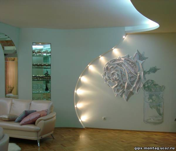 Подсветка на стену своими руками