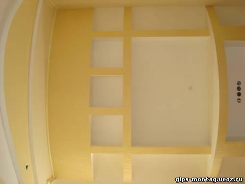 Потолок из гипсокартона фотогалерея