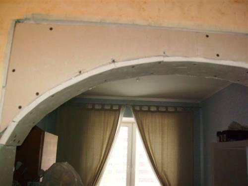 арки из гипсокартона в картинках.