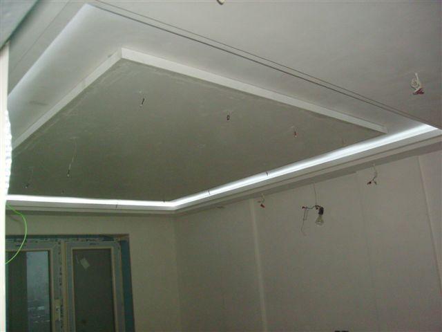 Под покраску потолок из гипсокартона